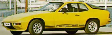 Porsche 924 Side Decals
