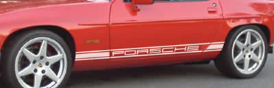 Porsche 928 Side Decals